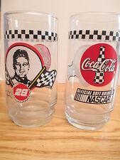 """Ricky Rudd No. 28 Nascar - Coca-Cola 6"""" Glass"""