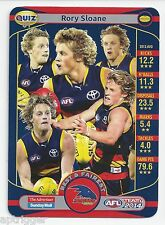2014 Teamcoach ADVERTISER Quiz (01) Rory SLOANE (What is the name of the Crows.)