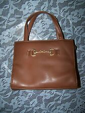 "Brown ""Horse's Bit"" Purse Handbag"