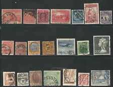 Worldwide: Lot of 40 different stamps with interesting postmark used. Wo229