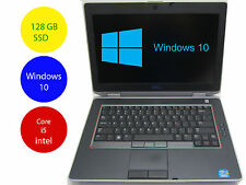 Dell Laptop Windows 10 PC Latitude E6420 intel Core i5 2.5GHz 8GB Ram 128GB SSD