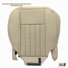 2004 Lincoln Navigator Driver Side Bottom Replacement Leather Seat Cover TAN