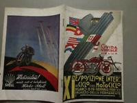 Esposizione ciclo e motociclo 1930 Numero unico Guida ufficiale 40 pag Codognato