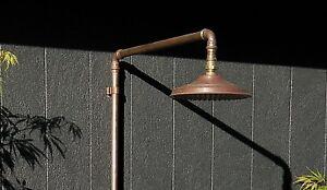 Outdoor Copper Shower Head 200mm
