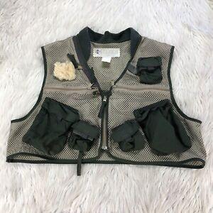 Vintage Columbia PFG Men's L Mesh Zip Front Fishing Vest