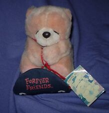 """'ANDREW BROWNSWORD  """"FOREVER FRIENDS """" TEDDY BEAR ON SLED WITH TAG    (#B74-43)"""