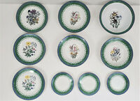 Smithsonian Institution Botanic Dinnerware Jane Webb Loudon Floral Mixed Lot 10