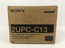Sony 2UPC-C13 Self Laminating Color Printing Pack Paper For Snaplab Terminals