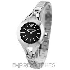 * nuevo * señoras Emporio Armani Chiara Malla De Reloj-ar7328-RRP £ 169,00 EUR *
