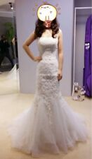 Designer Monique Lhuillier Wedding Dress Size 2