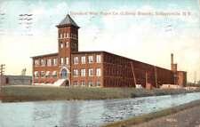Schuylerville New York Standard Wall Paper Co Antique Postcard K80228