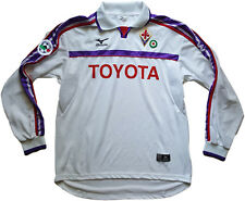 maglia fiorentina Chiesa Mizuno Toyota away serie a 2001 2002 XL