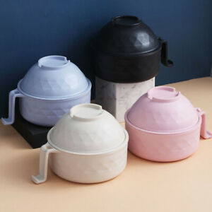 Instant Noodle Bowl Soup Noodle Rice Bowl Fruit Salad Food Container Tableware-