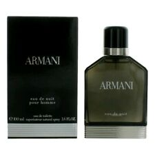 Armani Eau De Nuit Pour Homme by Giorgio Armani, 3.4 oz Edt Spray men