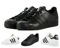 Adidas Originals Superstar Foundation Mens Trainers Casual Shoes 7 8 9 10 11