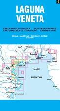 LAGUNA VENETA CARTINA NAUTICA-TURISTICA 1:50.000 [CARTA/MAPPA/POSTER] BELLETTI