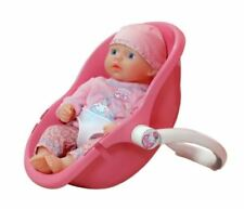 """MY FIRST BABY ANNABELL DOLL 14"""" WITH DUMMY & COMFORT CARRYING CAR SEAT NEW"""