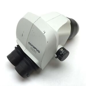 Olympus SZ51 Microscope Head, Stereo, Mag: 0.8x to 4x, *No Eyepieces*