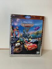 Cars 2 in 3D Blu-ray 3D+Blu-ray+DVD NO Digital Copy w/Lenticular Slipcover