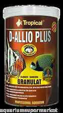 Tropical D-Allio Plus Granulat 600g Slow Sinking food for discus - Aussie Seller