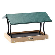 Birds Choice SNFT-300 LARGE Recycled Fly Thru Feeder w Green Roof