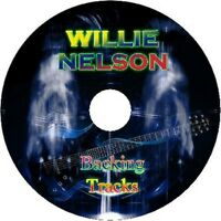 WILLIE NELSON GUITAR BACKING TRACKS CD BEST GREATEST HITS MUSIC PLAY ALONG MP3