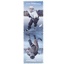 USPS New The History of Hockey Full Pane of 20