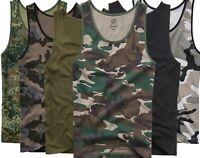 Brandit Herren Militär Top Tank Tarn Men Fitness Shirts S M L XL XXL 3XL 4XL 5XL