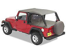 "Bikini ""Header"" Version ""Safari"", couleur: Khaki diamond, pour jeep Wrangler TJ"