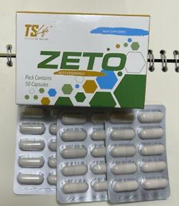 TS-LIFE ZETO Capsules 20 Capsules, Zeeto TS Life, 100% GENUINE, Free 1st Cl Post