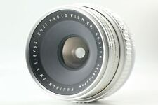 RARE!! [AS-IS (EXC+4)] Fujica Fujinon SW S Silver 65mm f/8 Wide Angle from Japan