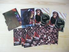 INKWORKS PLANET OF THE APES FOIL JOB LOT ODDS TRADING CHASE CARDS NM/MT