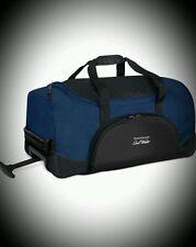 Mens Davidoff Cool Water Traveling Rolling Evening Bag Duffle Weekender