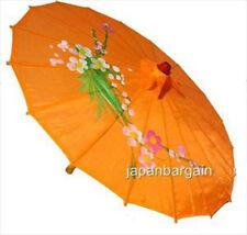 4 x JapanBargain S-2162 Japanese Chinese Umbrella Parasol 156-9, Orange 2162x4