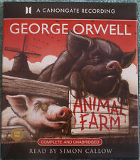 Animal Farm George Orwell Audiobook Complete Unabridged Read by Simon Calow 2009