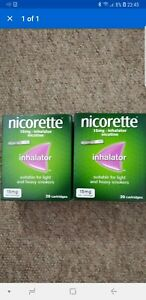 Nicorette 15mg Inhalator - 2 x 20 Cartridges