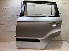 KIA SOUL CRDI 2011  DOOR PANEL  REAR LEFT PASSENGER  SIDE in SILVER 3D & GLASS