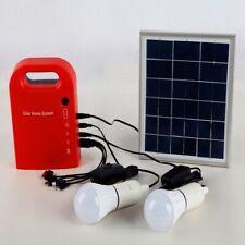 Solar Panels Lighting System Portable Outdoor DC Charging Power Bank Generator
