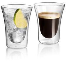 Set Of 2 Double Wall Cup Coffee Glass Tea Insulated Mug Espresso Cups Wine GLASS