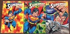 Superman Doomsday Hunter Prey 1,2,3 Breeding Jurgens DC lot Complete set 1994 Nm