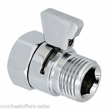 Shower Flow Control Valve Water Pressure Reducing Valve Brass Valve Ceramic Disc