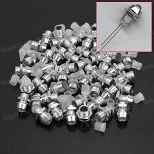 50Pcs 5mm Silver Tone Chrome Metal LED Bezel Holder Panel Display