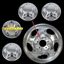 "4 Ford F150 CHROME Wheel Center Hub Caps Nut Cover for 5 Slot 16"" Aluminum Rim"