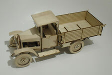 Self-Assembly Wooden Construction Model Kit 1:18 of USSR cargo truck AMO F-15