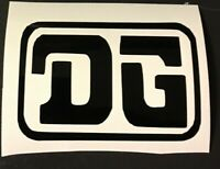 DG BMX  Decal Stickers - Old school 80's Hutch Se Racing Skyway Torker GT Boss
