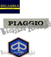8957 - SCUDETTO + TARGHETTA COPRISTERZO COPRICLACSON VESPA 50 125 PK S