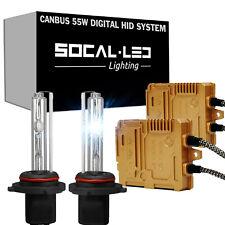 SOCAL-LED H7 55W CANBUS HID Kit High Power Premium Digital Ballast 6K 8K 10K 12K