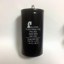 3300uf 450vdc MFD Electrolytic Capacitor Alcon Pg-6di