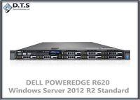 Dell PowerEdge R620 E5-2609 2.4Ghz Windows Server 2012 R2 Standard with COA -CTO