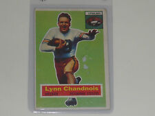 Lynn  Chandnois, HB- Pittsburgh Steelers, 1956 Topps- #39